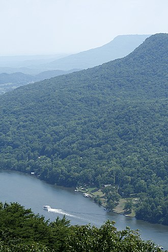 Tennessee River Gorge - Image: Gallery gorge 2 800