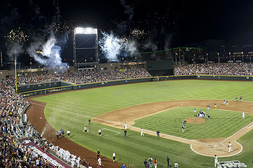 Game Two College World Series Omaha June 25, 2012