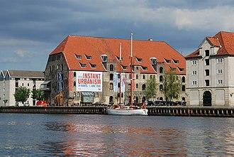 Gammel Dok (building) - Gammel Dok seen from the Harbour