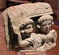 Gandhara, frammento femminile di statua a stele, 50 dc. ca. 02.JPG