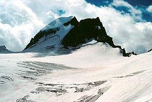 Gannet Peak with Gannett Glacier