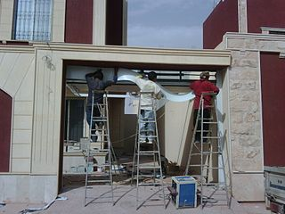 File Garage Door In Riyadh Saudi Arabia Jpg Wikimedia