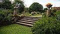 Garden staircase at Easton Lodge Gardens, Little Easton, Essex, England.jpg