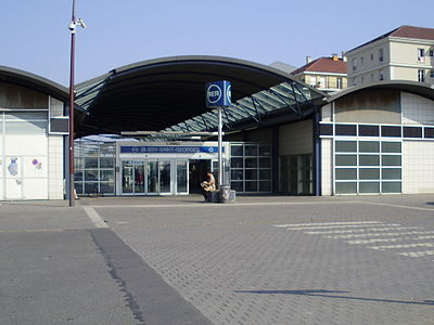 Bussy-Saint-Georges station