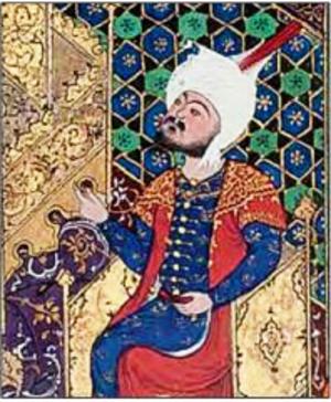 Garsivaz - Painting of Garsivaz in the Shahnama of Shah Tahmasp