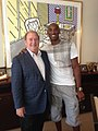 Gary Winnick and Kobe Bryant of the Los Angeles Lakers (14442415659).jpg