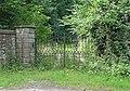 Gates at northeast entrance to Longnor Hall.jpg