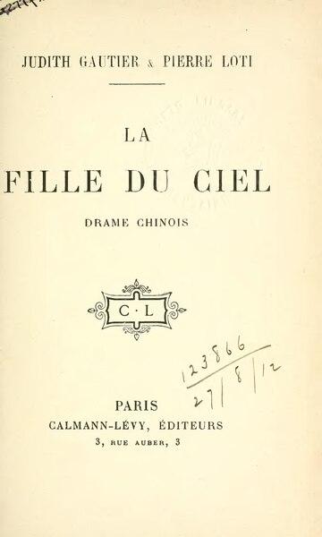File:Gautier, Loti - La Fille du Ciel (1912).djvu