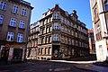 Gdańsk - Śródmieście. Skrzyżowanie ulic Na Stoku i Biskupiej. Kamienica - panoramio.jpg