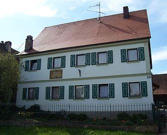 Michael Deinlein - Deinlein's birthplace