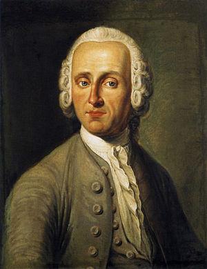 Hainichen, Saxony - Christian Fürchtegott Gellert in 1752
