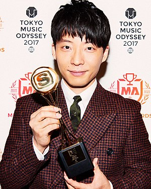 Gen Hoshino - Gen Hoshino at the Space Shower Music Awards (2017).