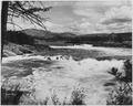 General view of Kettle Falls of the Columbia River. This was taken on a field trip of the Spokane Camera Club.... - NARA - 298707.tif