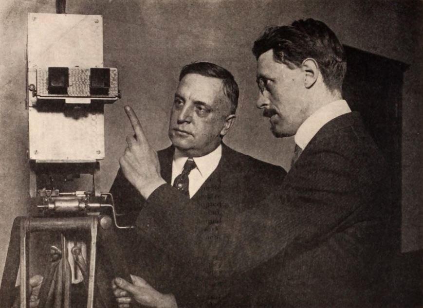 George Kirke Spoor & P John Berggren - Jan 1921 EH
