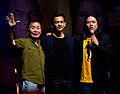 George Takei, John Cho and Garrett Wang.jpg