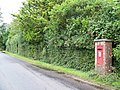 George V Postbox, Rockford - geograph.org.uk - 951509.jpg