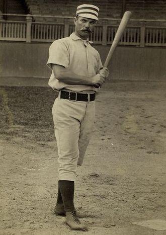 George Wood (baseball) - Wood as a Philadelphia Quaker, c. 1886-89