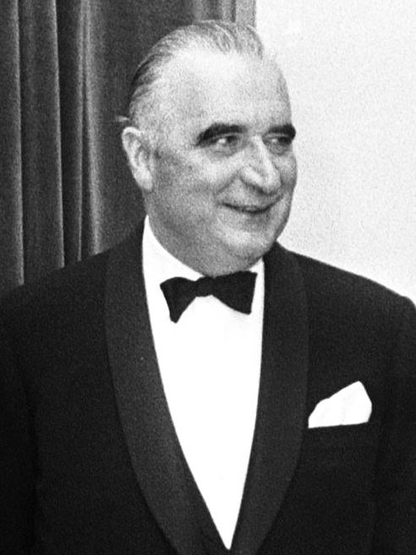 Photo Georges Pompidou via Wikidata