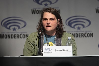 Picture of a band or musician: Gerard Way