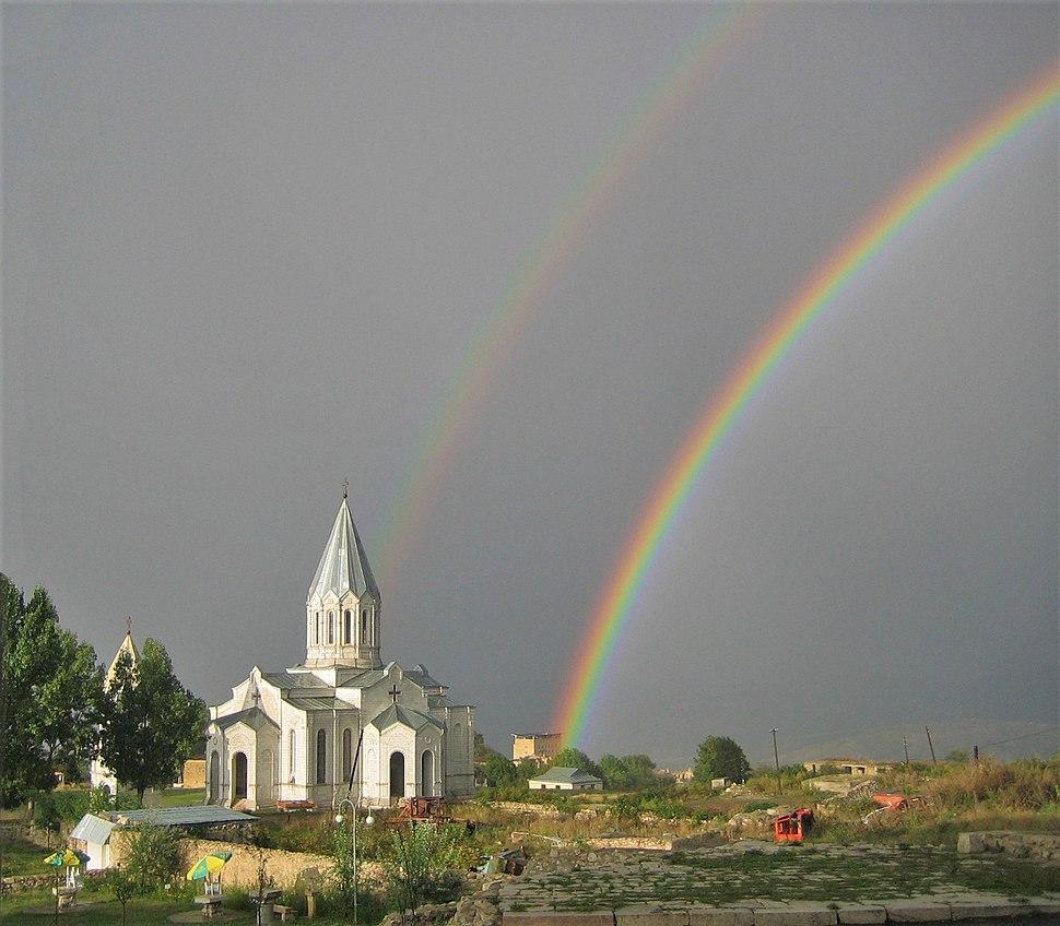 Ghazanchetsots Double Rainbow