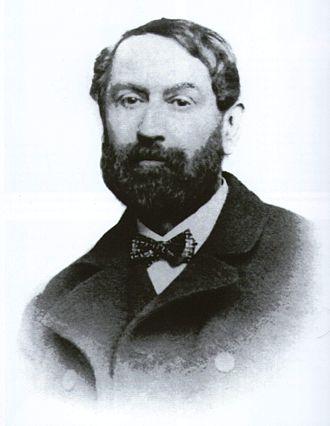 Campana reliefs - Photo of Giampietro Campana (c.1857/58)