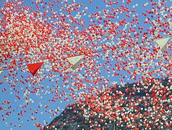 Gibraltar National Day 2001 balloons.JPG