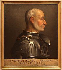 portrait of Bartolomeo Colleoni