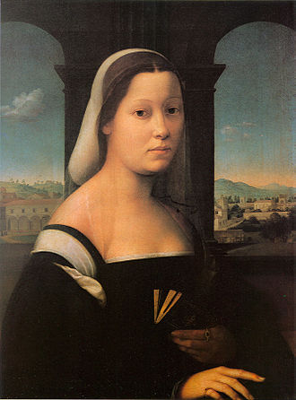 Giuliano Bugiardini - Portrait of a Woman, The 'Nun'