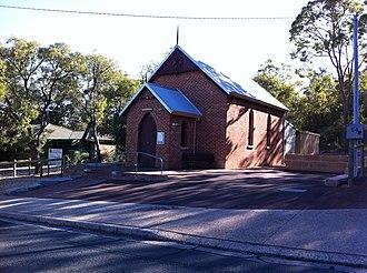 Glen Forrest, Western Australia - Image: Glen Forrest Uniting Church building