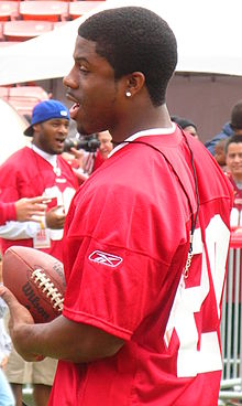 Glen Coffee at 49ers Family Day 2009.JPG