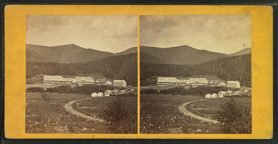 Glen House and Carter Range, by John B. Heywood
