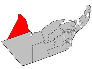 Beresford Parish, New Brunswick Parish in New Brunswick, Canada