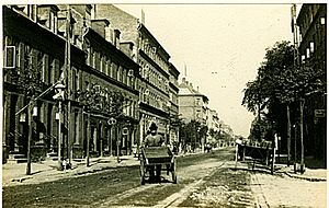 Godthåbsvej - Godthåbsvej in 1899