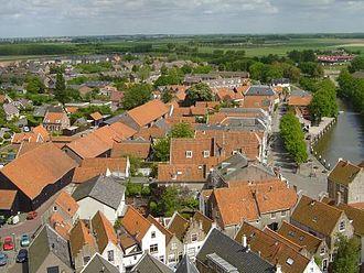 Goeree-Overflakkee - View over Goedereede