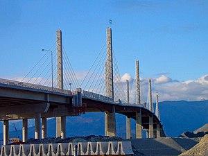 Golden Ears Bridge - The Golden Ears Bridge in Langley.