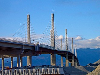 Golden Ears Bridge - The Golden Ears Bridge in Langley.