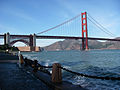 Golden Gate Bridge and Fort Point 2009.jpg