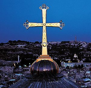 Golgotha Crucifix, designed by Paul Nagel, Chu...