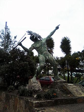 Muisca mythology - Goranchacha, one of the mythical creatures in the mythology of the Muisca