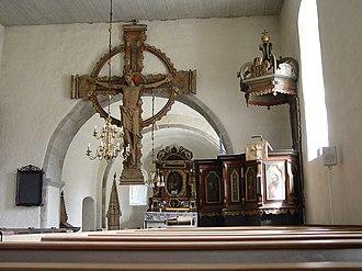 Alva Church - Image: Gotland Alva Kirche 03