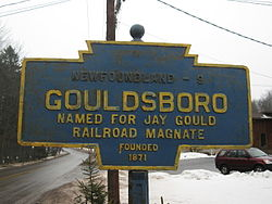 Official logo of Gouldsboro, Pennsylvania