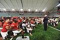 Governor Visits University of Maryland Football Team (36526110690).jpg