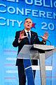 Governor of Florida Jeb Bush at Southern Republican Leadership Conference, Oklahoma City, OK May 2015 by Michael Vadon 05.jpg