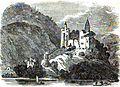 Grémi Castle and Church. Robert Lyall. Travels in Russia, The Krimea, The Caucasus, and Georgia. 1825. Chap. XIV. P.34.jpg