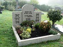 Rudolf Hess Grab