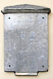 Gedenktafel, Große Hamburger Straße 29, in Berlin-Mitte (Quelle: Wikimedia)