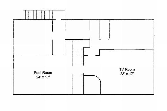 Graceland Memphis TN Floorplan Basement