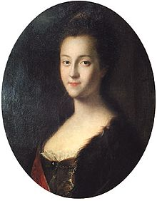 Grand Duchess Catherine Alexeevna by L.Caravaque (1745, Gatchina museum).jpg