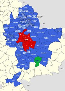 Corbas Plan Ville