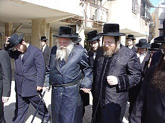 Khust - Grand Rebbes of Chust (USA) and Pittsburgh (Ashdod)